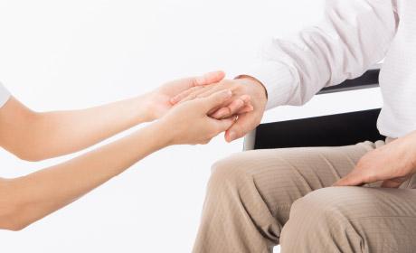 介護サポート制度で寄り添う。