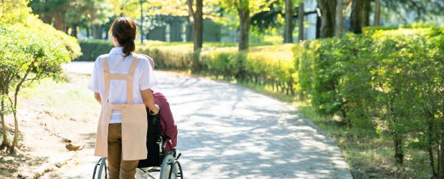 介護サポート制度で家族に寄り添う。